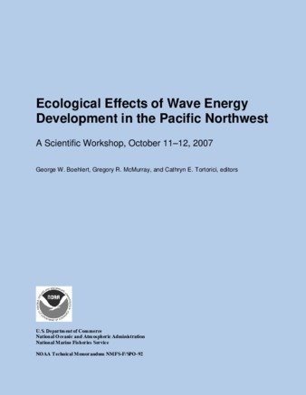 Administrative Report Or Publication | Ecological-Effects-Workshop